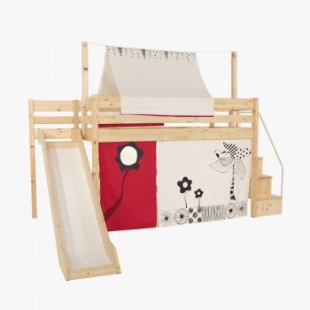앤비 벙커 계단 미끄럼틀 침대