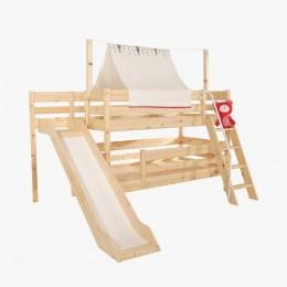 앤비 2층 사다리 미끄럼틀 침대