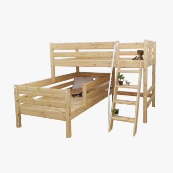 앤비 2층 크로스 사다리 침대