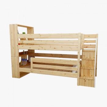 북케이스 2층 계단 침대