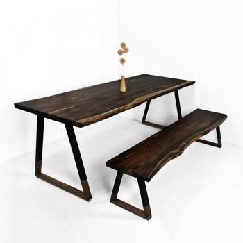 로즈우드 우드슬랩 테이블